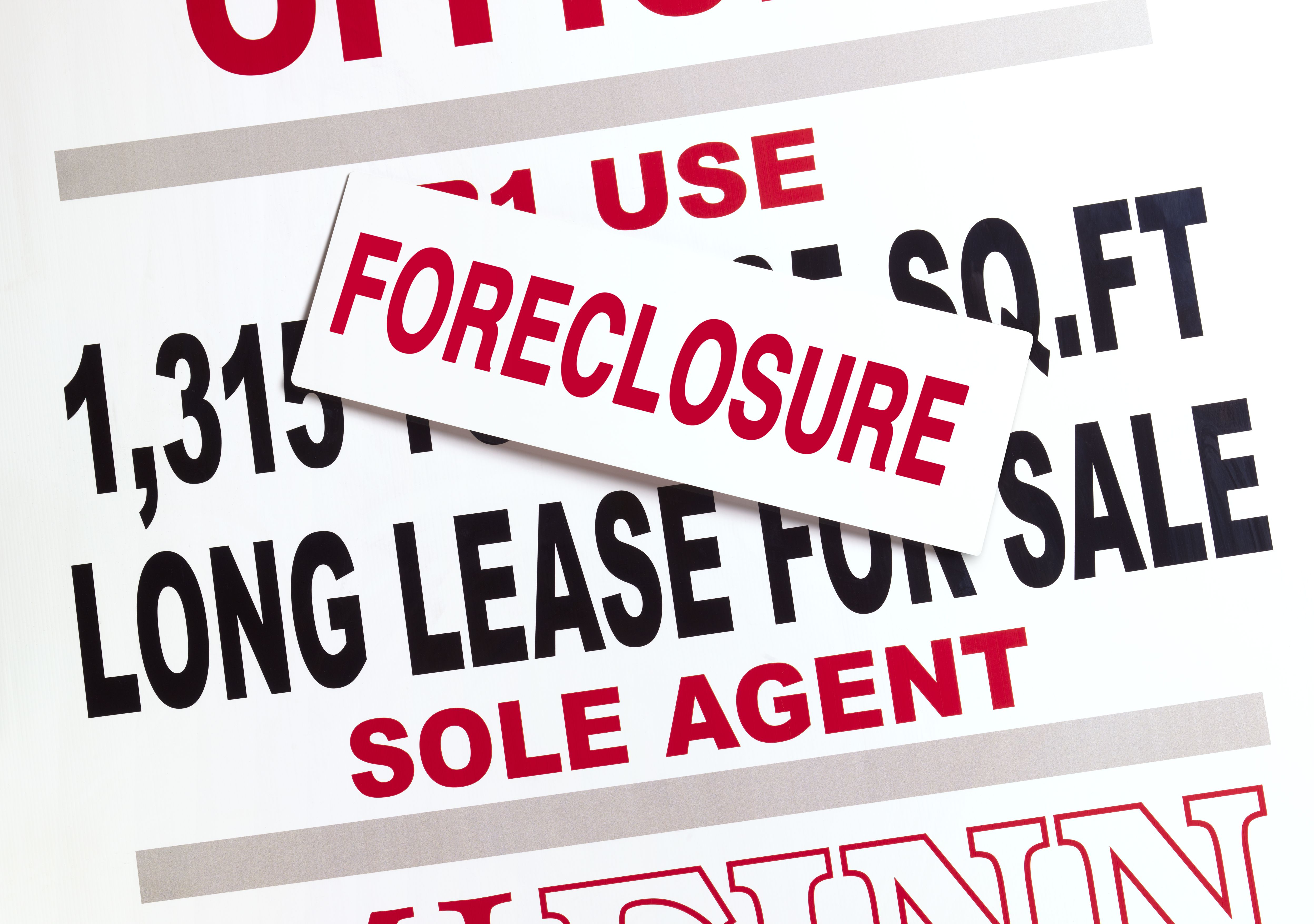 foreclosures on business property