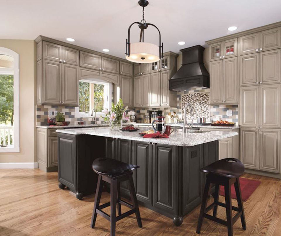 Kitchen Cabinets: 10 Inspiring Gray Kitchen Design Ideas