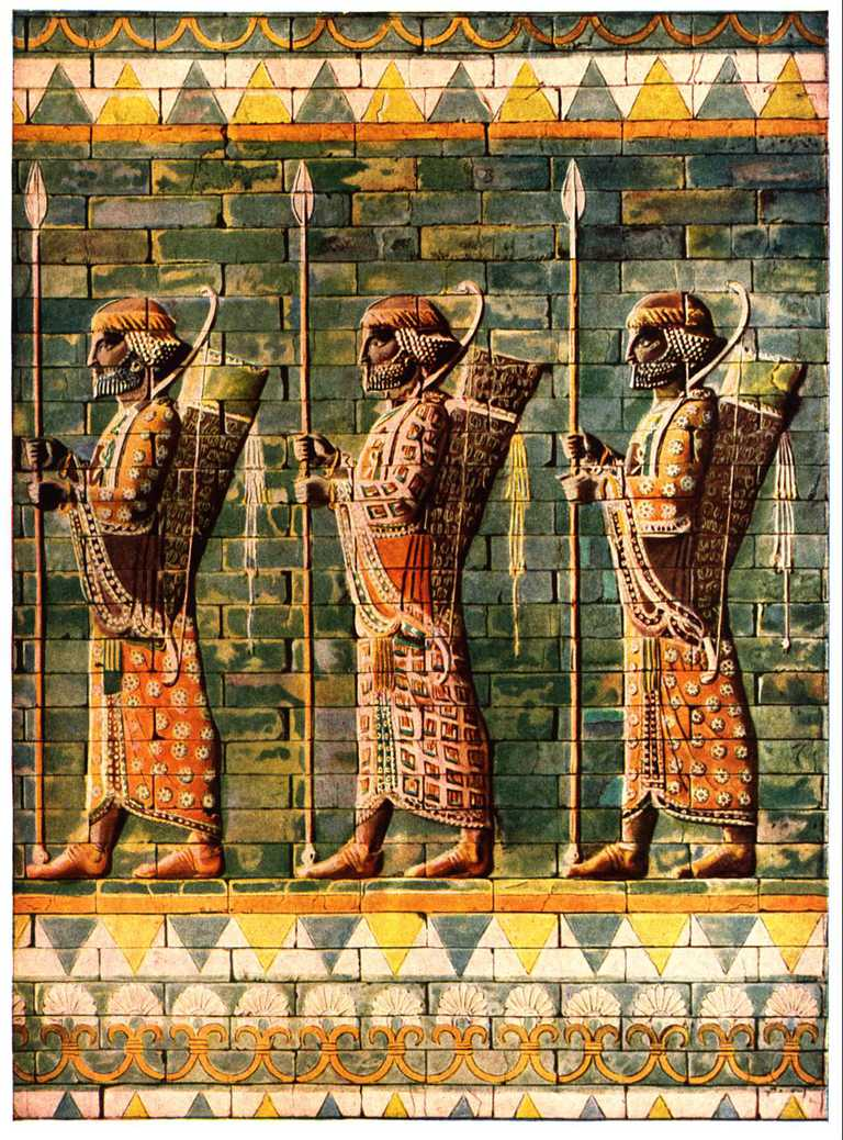 The Immortals of Persian King Darius