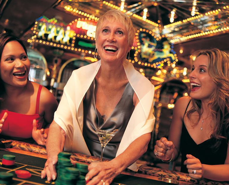 Woman with gambling winnings in Vegas - unaware of tax consequences.