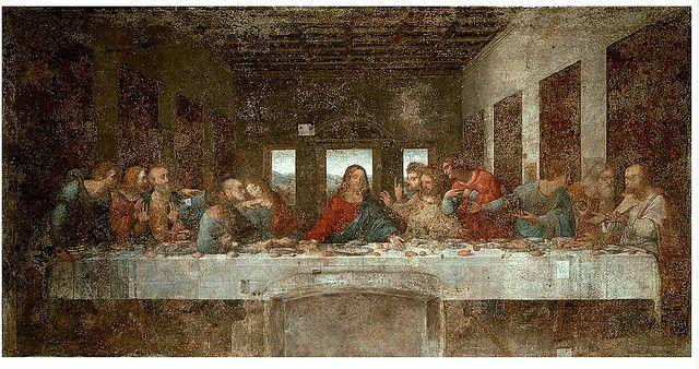 Obra clasica de la ultima cena