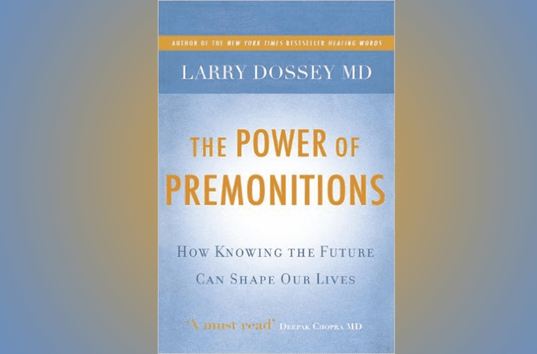 Cover of the book, The Power of Premonitions