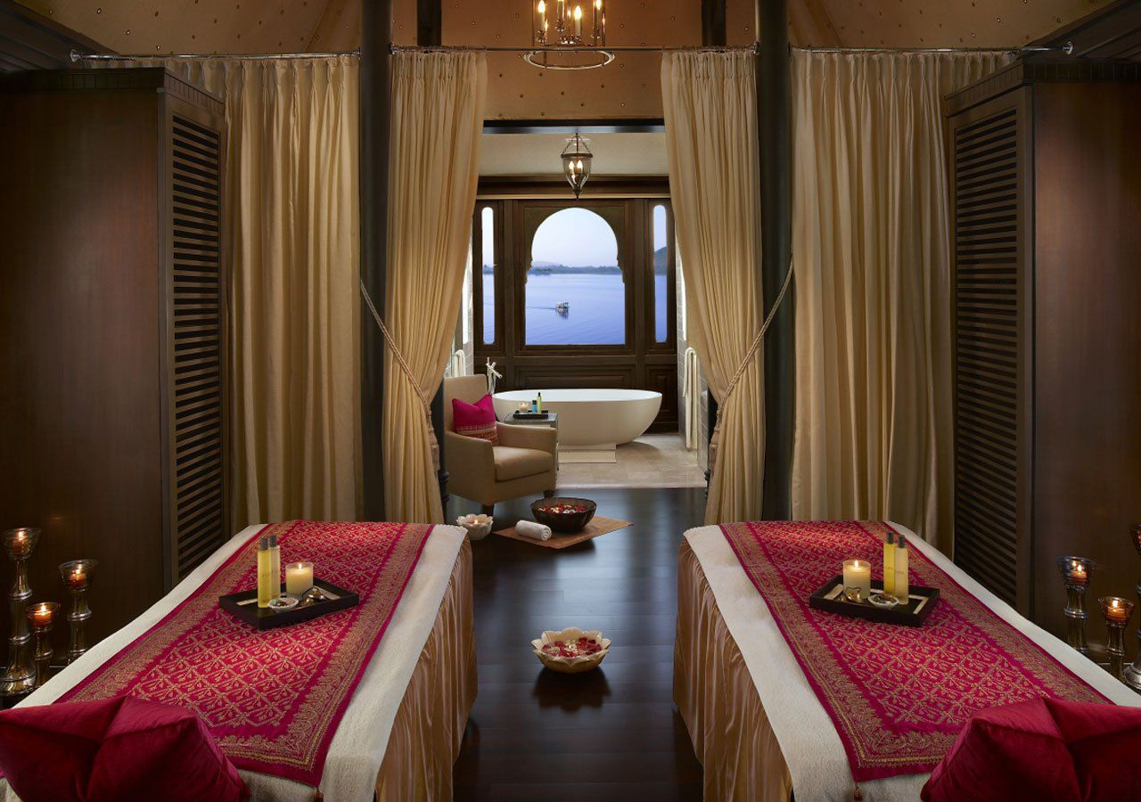 Top 10 best luxury spas in india for wellness for Top 10 design hotels