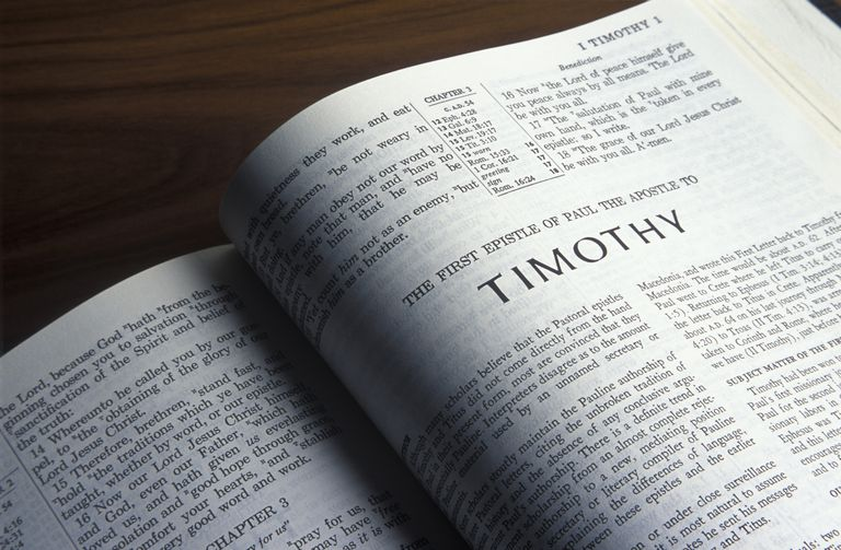 Book of 1 Timothy