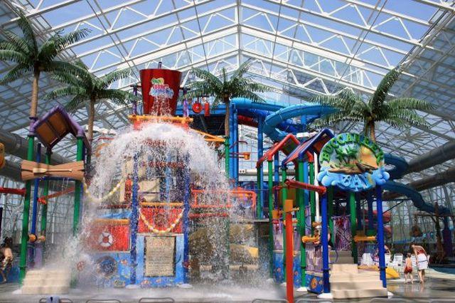 Big Splash Adventure Indiana Indoor Water Park