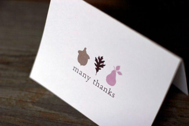 diy thanksgiving card