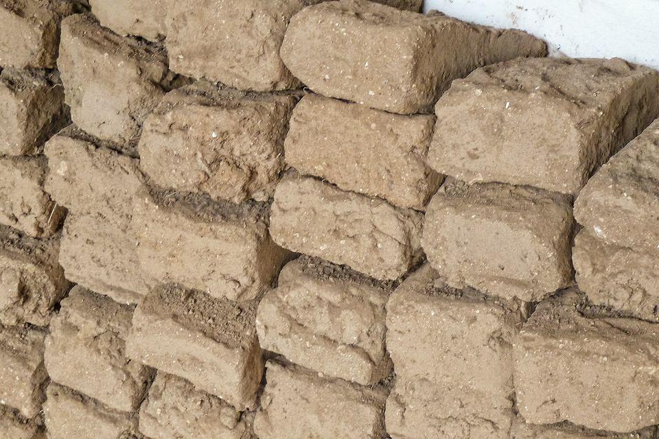 Adobe Bricks at San Gabriel Mission