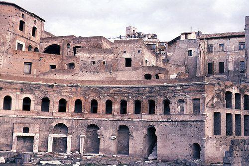 Market of Trajan in Rome