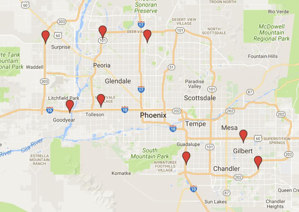 Sam's Club Locations in Metro Phoenix