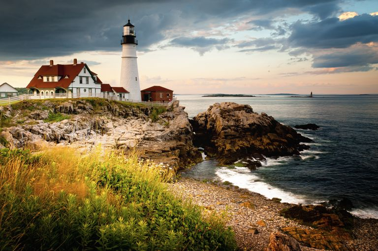Portland Head Light - Cape Elizabeth, ME., USA