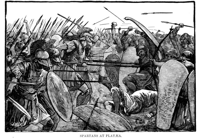 Spartans at Plataea