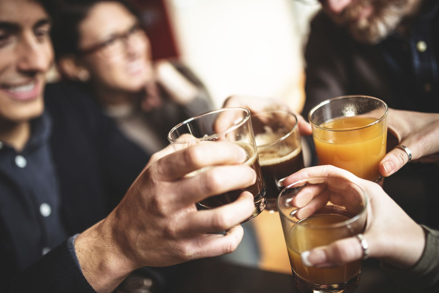 Drinking Alcohol Causes Calf Pain