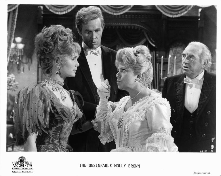 Debbie Reynolds And Harve Presnell In 'The Unsinkable Molly Brown'