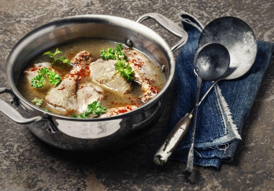 Chicken and onion stew