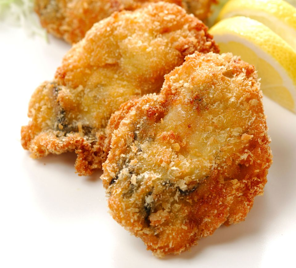 Fried Oysters Cornmeal Batter
