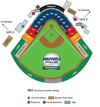 Seating Chart For Sf Giants At Scottsdale Stadium