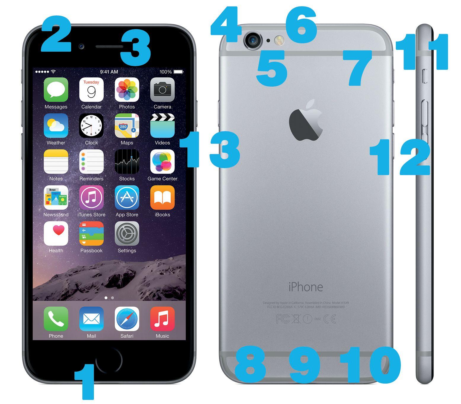 Anatomy Of The Iphone 5s Hardware
