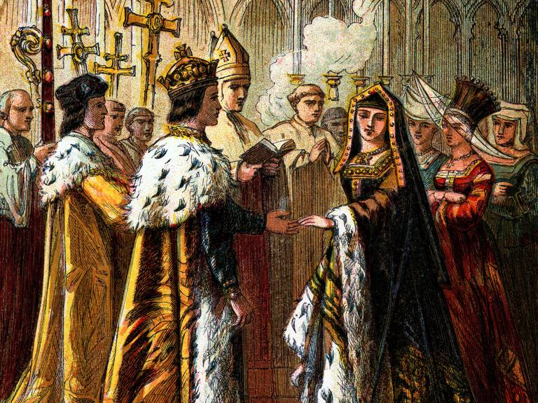 Marriage of Henry VII and Elizabeth of York