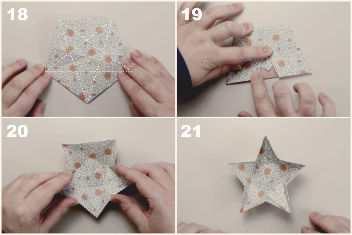 Origami star dish instructions jeuxipadfo Images