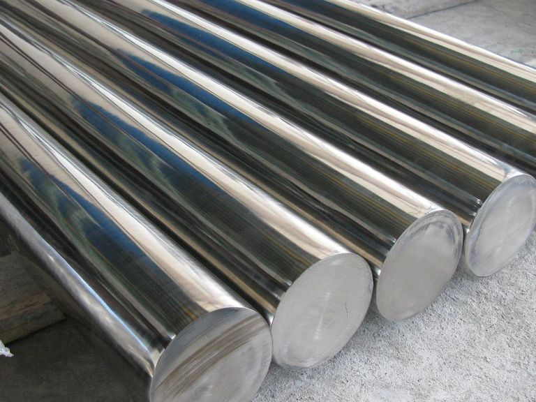 Monel nickel alloy rods.