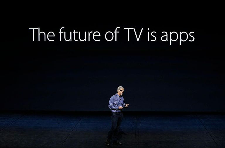 Tim Cook launches Apple TV 4