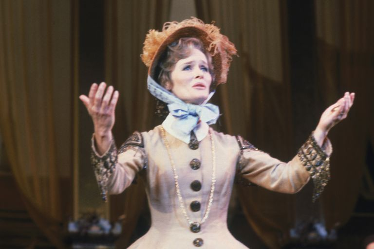 Virginia McKenna as Anna in a 1979 Production of The King and I