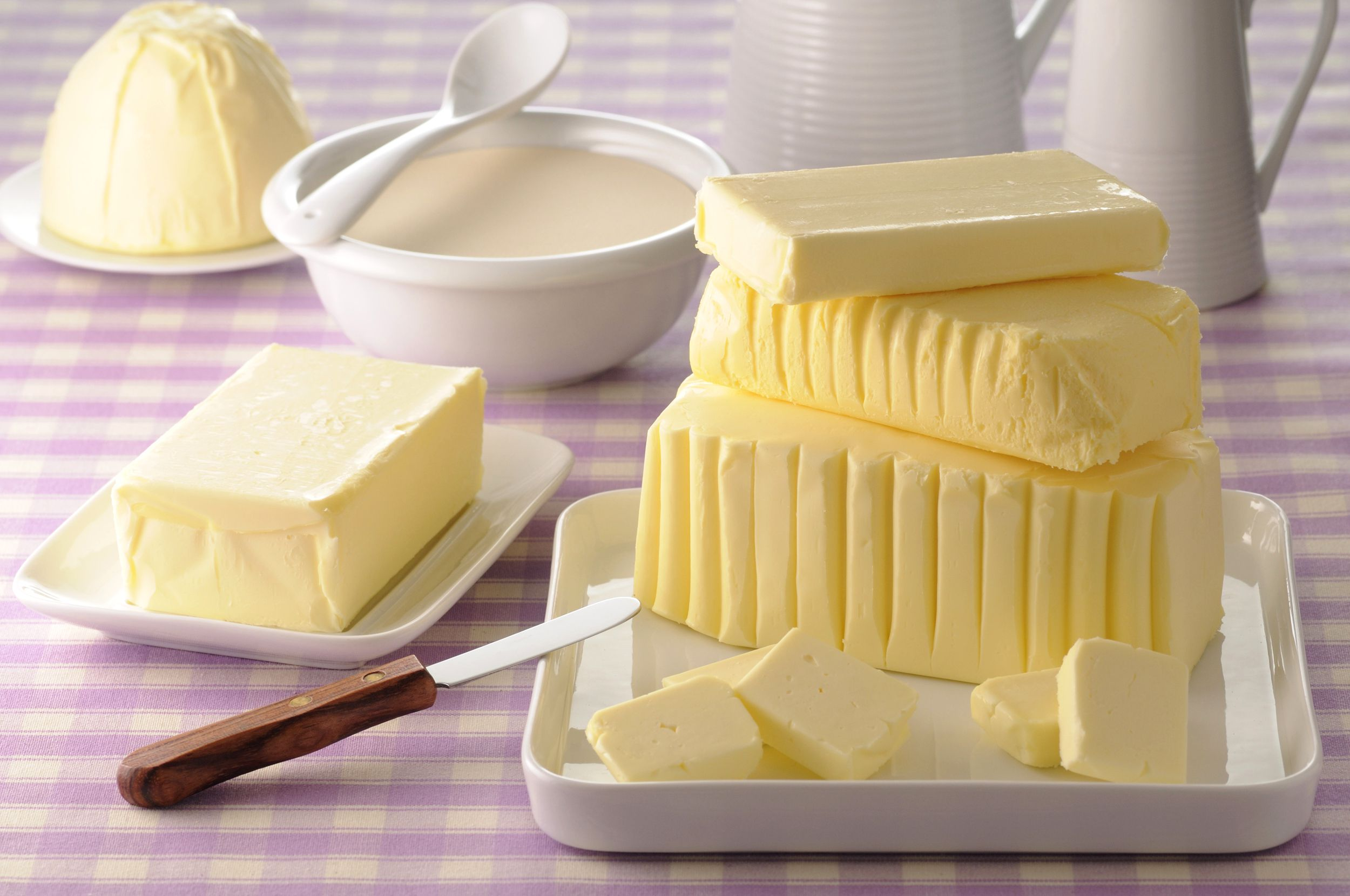 physicochemical events in production of butter and margarine Butter made from pasteurized fresh cream is called sweet cream butter production of sweet cream and it is still the case today that more margarine than butter is where cow and yak butter can be buried for decades, and is used at events such as weddings yak butter is a.