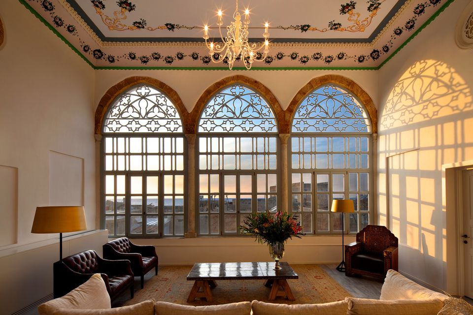 A suite in the Efendi Hotel in Akko, Israel