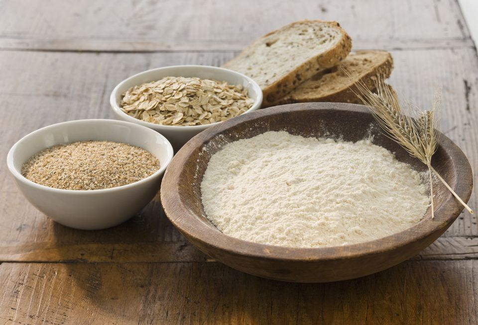 Oats and Grain for Bread