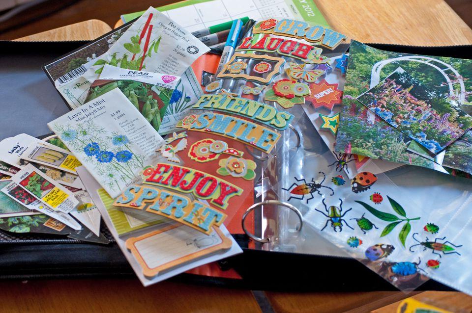 Making a Garden Journal
