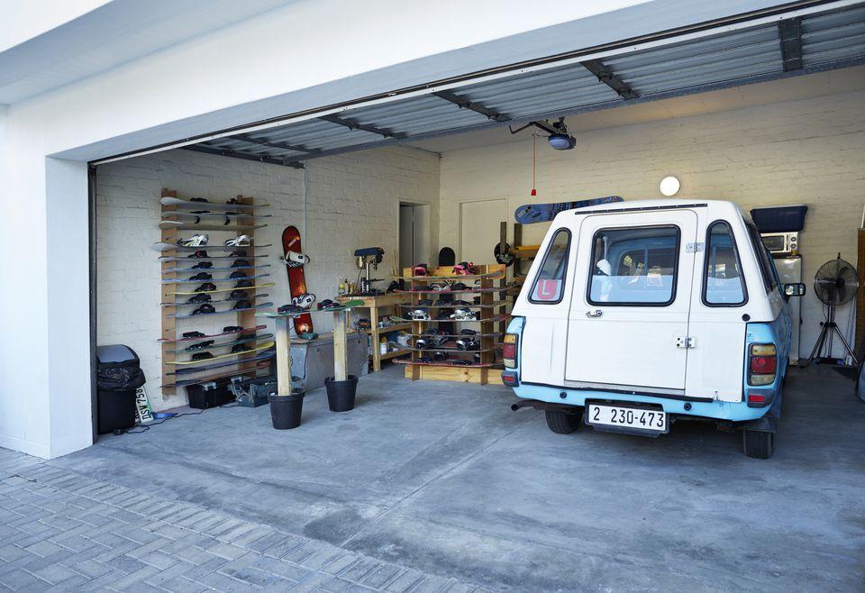 Organize The Garage In Zones