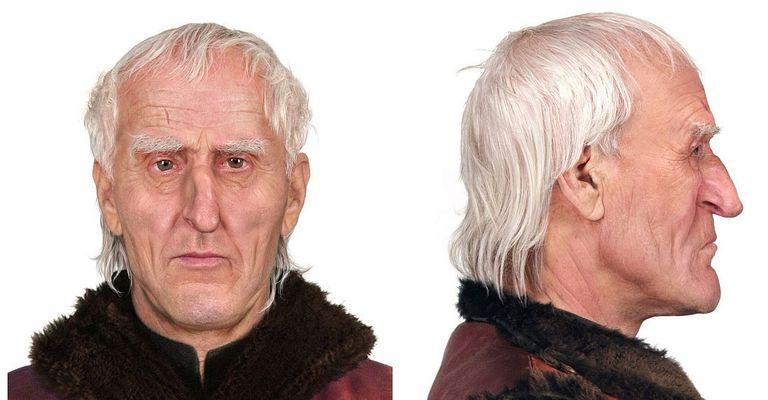 Recostrucción facial del rostro de Copérnico