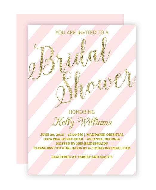 Free printable bridal shower invitations solutioingenieria Image collections