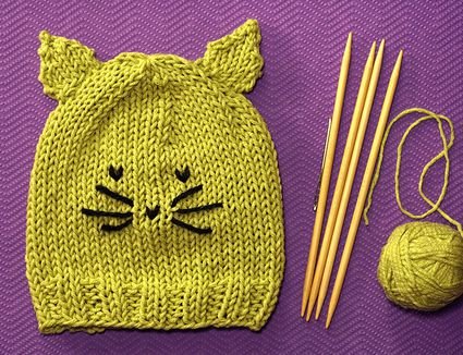 Knitting In The Round With Convert Stitch Patterns