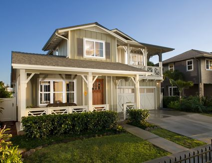 paint ideas for home exteriors - Craftsman Home Exterior