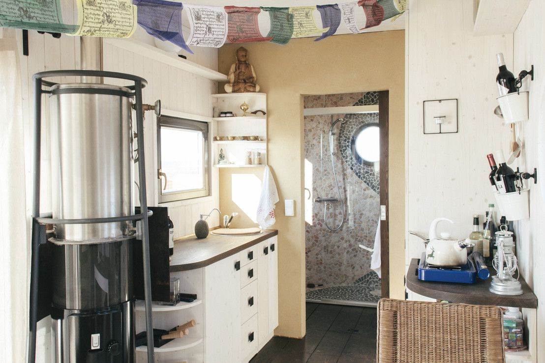 The Wohnwagon is a Self-Sufficient Mobile Dwelling