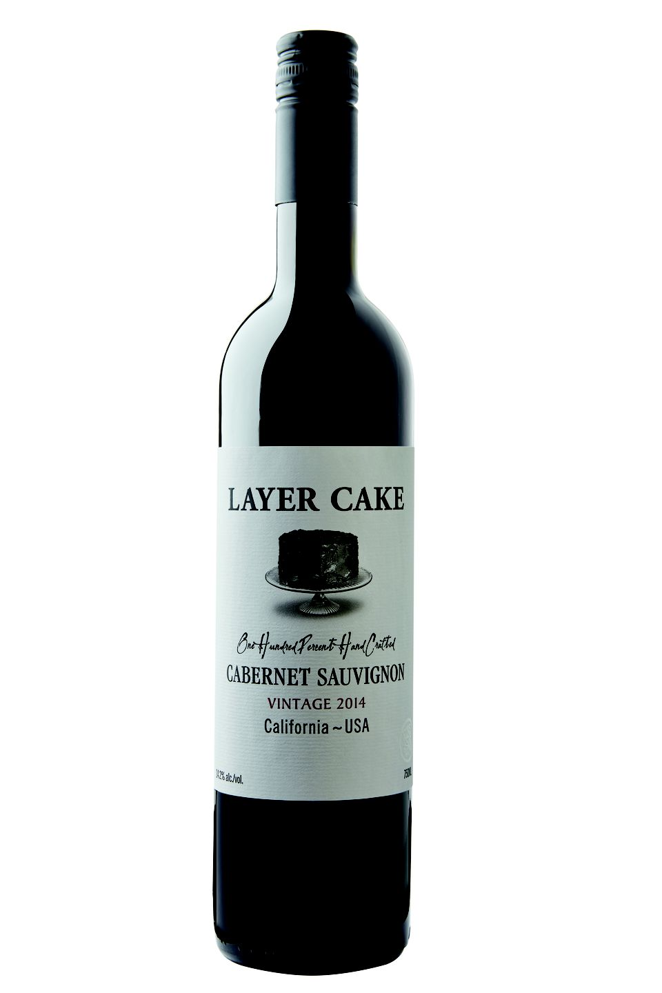 layer cake wine bottle