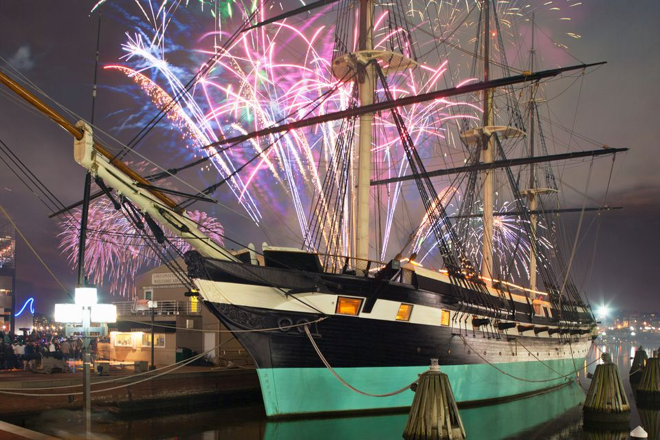 Baltimore new year fireworks