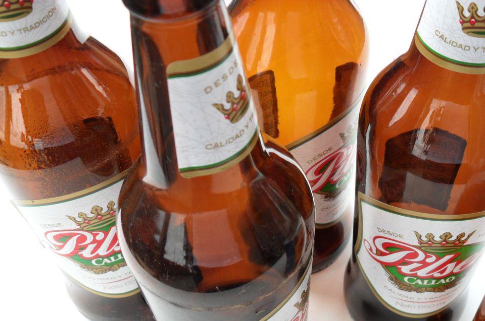 Peruvian beer Pilsen Callao