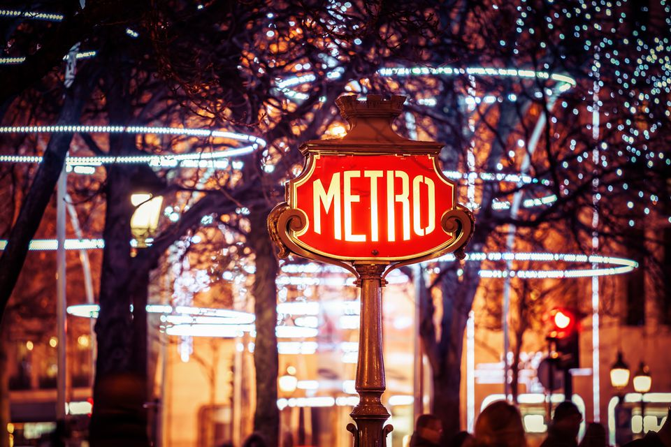 Christmas in Paris is always festive and fun.