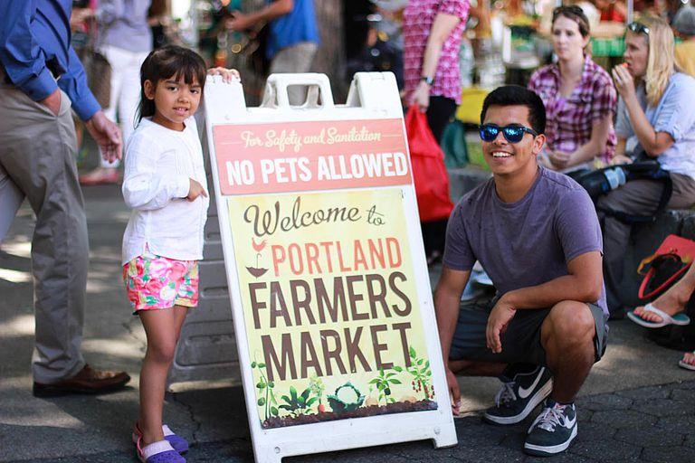 Mercado de Granjeros de Portland