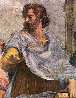 Aristotle Biography - Aristotle Pictures - Aristotle from The School of Athens