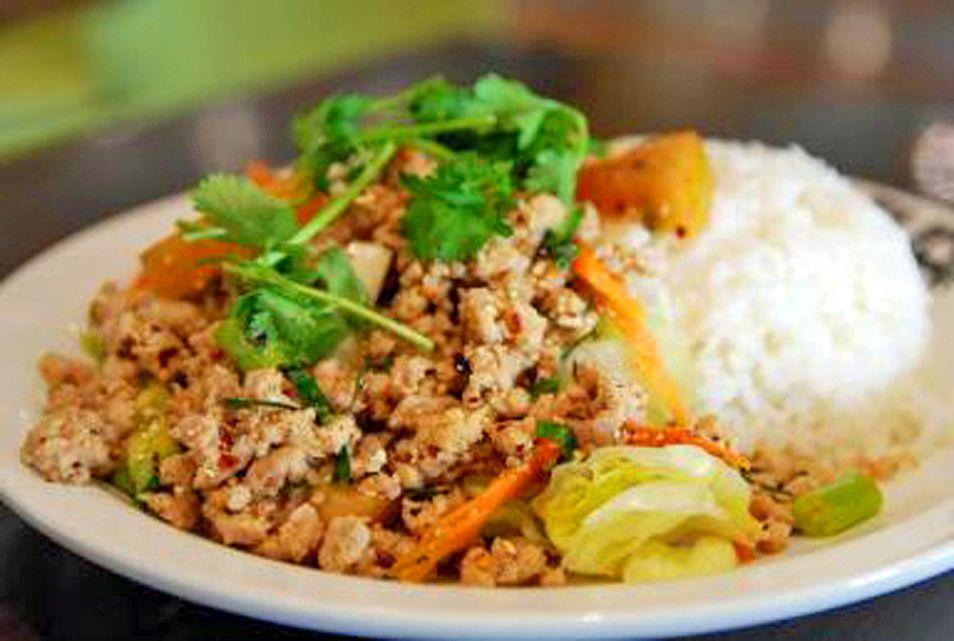 Famous Thai Chicken Salad Larb Gai