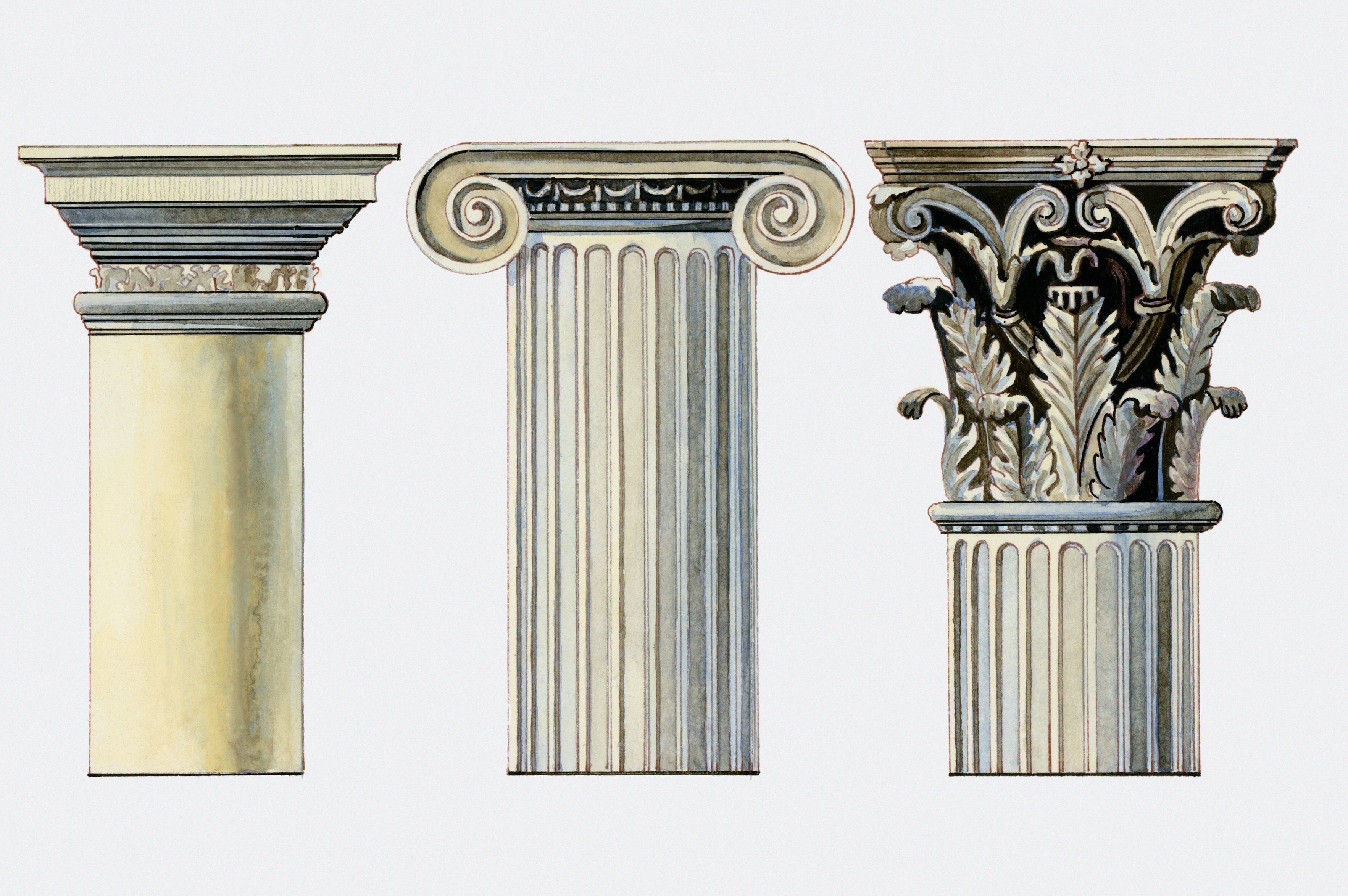 Roman Architecture Columns popular column types from ancient to postmodern