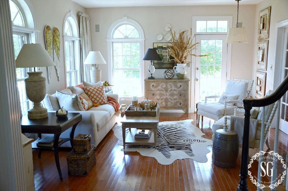 Color Outside The Lines Small Living Room Decorating Ideas: 24 Creative Fall Harvest Home Decor Ideas