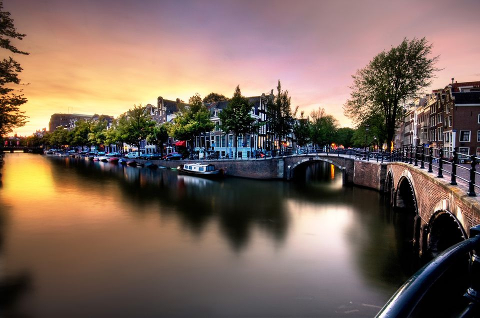 An evening in amsterdam