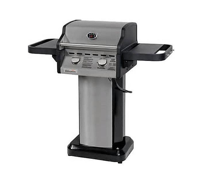 Brinkmann 2-Burner Portico Collection Gas Grill Model# 810-3260-S