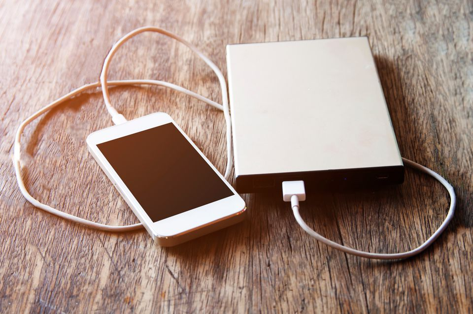 Portable travel charger smartphone