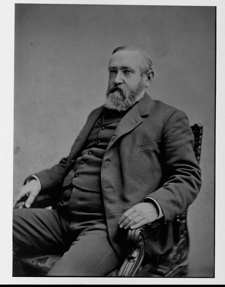 Benjamin Harrison, the twenty-third president of the United States.