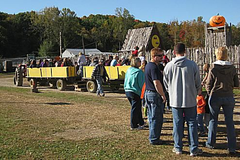 Hayride at Stuckmeyer's Farm